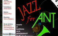Jazz for Ant: Concerto di beneficenza al Paisiello