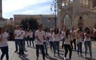 """Fight for Justice"", il flash mob contro la mafia"