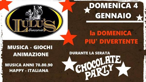 """Chocolate Party"" al Lulu's con il duo Street Angel"