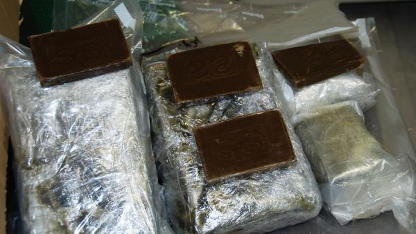 Sequestrati 6 chili di Hashish provenienti dalla Spagna