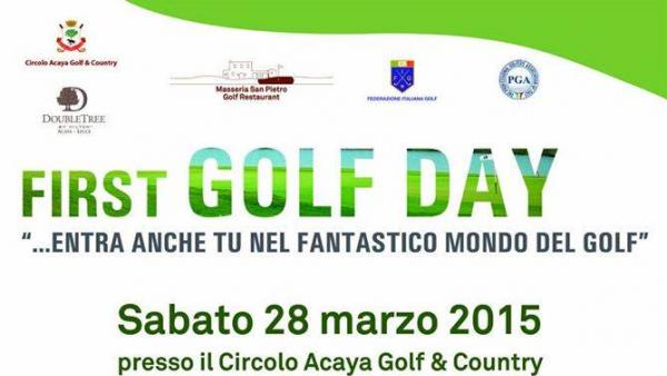 First Golf Day al DoubleTree by Hilton Acaya Golf Resort