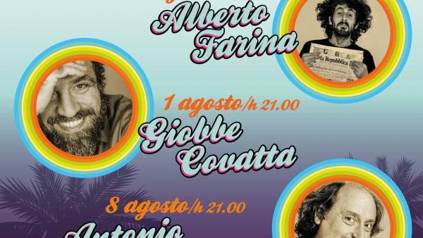 Summer Cabaret, all'Out Line con Farina, Covatta e Cornacchione