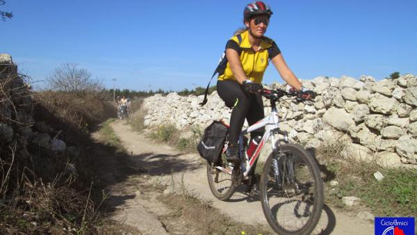 Mountain Bike tra Frigole San Cataldo e San Ligorio