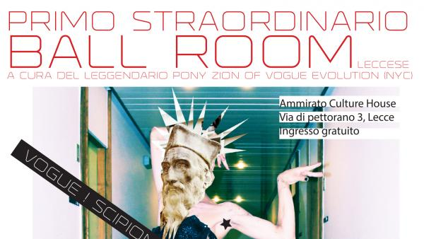 Arriva il primo Ball Room all'Ammirato Culture House