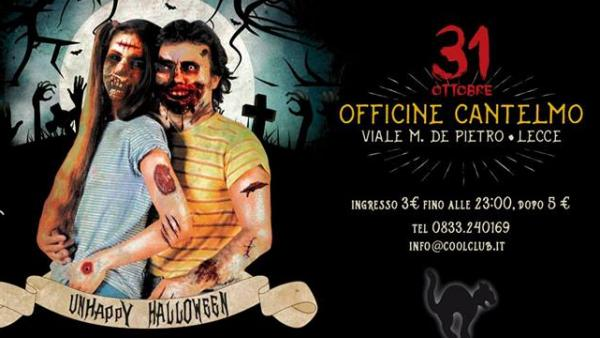 Halloween con Trash Against the Machine alle Officine Cantelmo