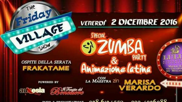 The Friday Village Show, il nuovo format musicale sbarca al Lulu's