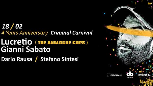 Crime Room Carnival Edition con Lucretio special guest