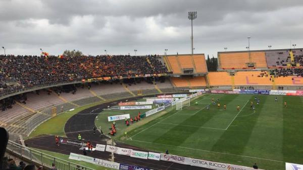 Prosegue la marcia giallorossa: Marconi regala la vittoria al Lecce nel finale
